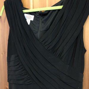 Talbots size 12 black dress
